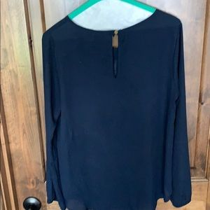 buttons Tops - Long sleeve dressy top